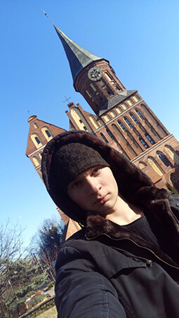 Михаил Русинов, 20 лет. Калининград.